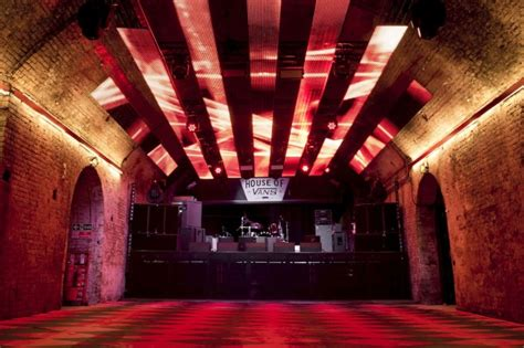 house music venues look inside london s subterranean funhouse the house of vans archpaper com