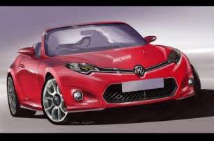 new motor cars new mg sports car in development autocar