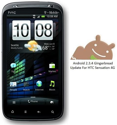 tmobile android update htc sensation 4g gets android 2 3 4 gingerbread update 1 45 531 1 from t mobile