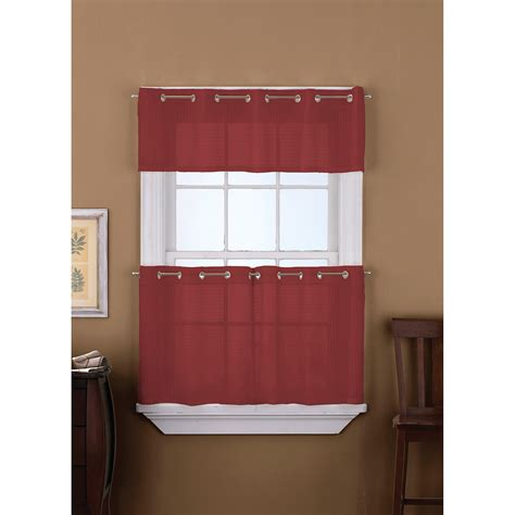 red kitchen curtain red kitchen curtains soozone