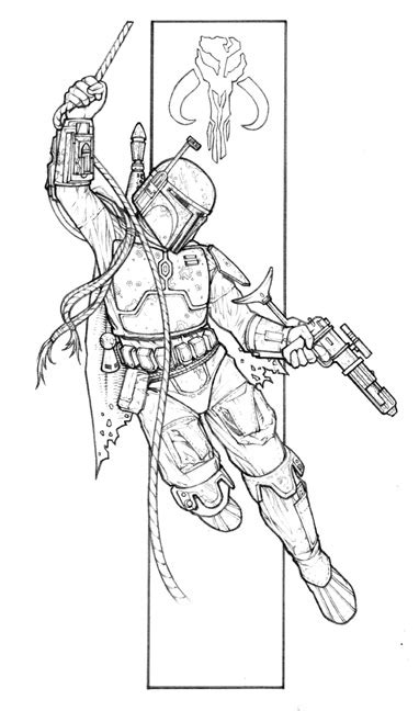 new guide to coloring 1497200873 star wars new essential guide to characters boba fett fan club
