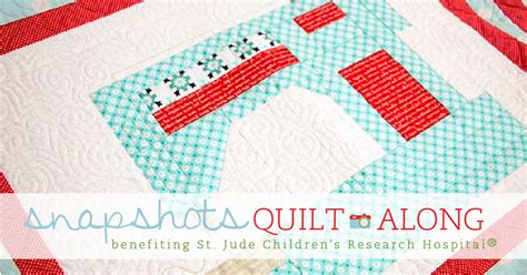 Snapshot Quilt Pattern by Snapshots Quilt Along Sew On Sew On Block Quarter