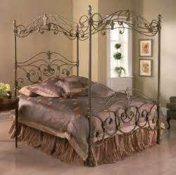 Gothic Canopy Bed descriptions about the different types of metal bedroom