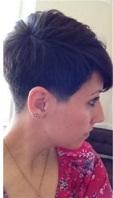 pics of the back of a pixie clipper cut haircuts on pinterest pixie haircuts pixie cuts and