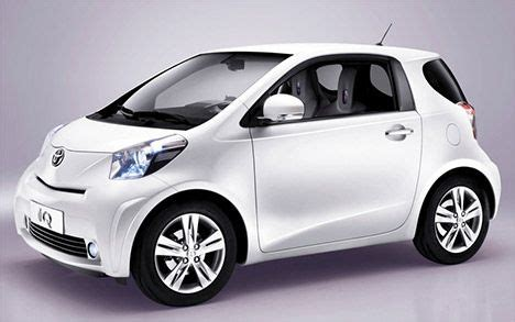 toyota iq: less is more for small urban car | treehugger