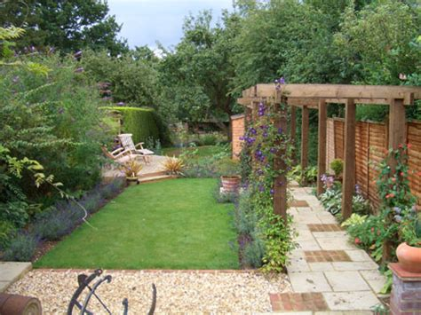 Garden Ideas On Pinterest Narrow Garden Garden Design Small Narrow Backyard Ideas