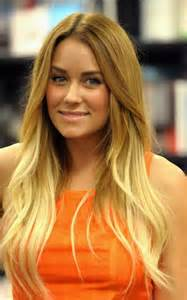 Light brown blonde ombre hair