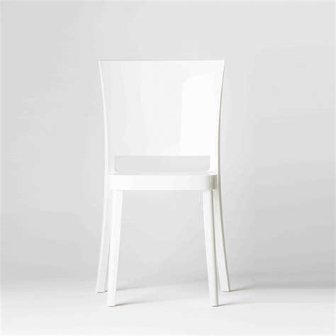 bellelli linea ufficio chaise polycarbonate couleur lucienne blanche chaises de