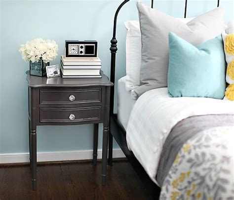 grey blue white bedroom nice blue grey and yellow color scheme home inspiration pinterest grey nightstands guest