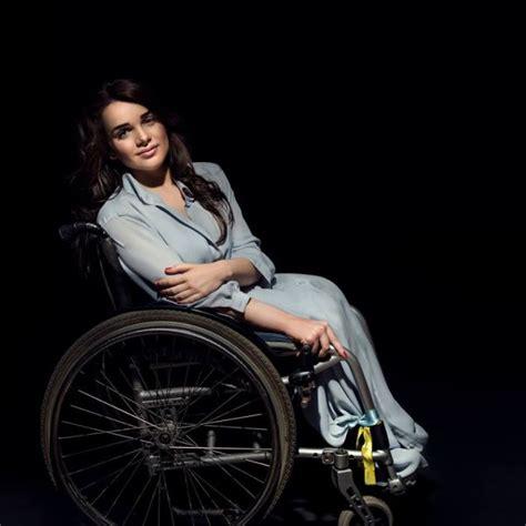 biography of famous handicapped person quot хто як не ми quot українська модель на інвалідному візку