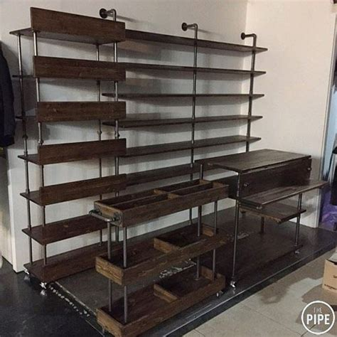 Galvanized Pipe Furniture by 1000 Images About Pipe Furniture On Industrial Galvanized Pipe And Rustic Industrial