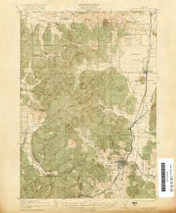 topographic maps oregon oregon historical topographic maps perry casta 241 eda map