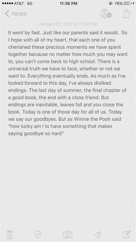 Farewell High School Speech Taylor Wilson Senior Year 19 Pinterest High School School Farewell Presentation Ideas
