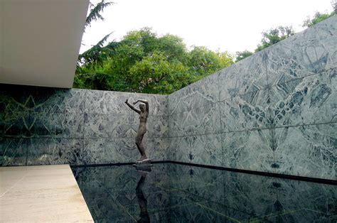 pavillon mies der rohe pavillon mies der rohe barcelona foto bild