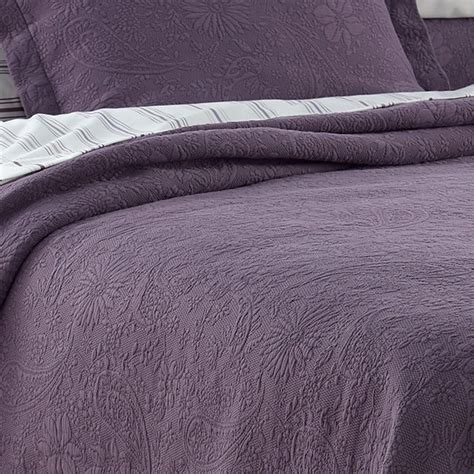 purple matelasse coverlet shops colors and floral on pinterest