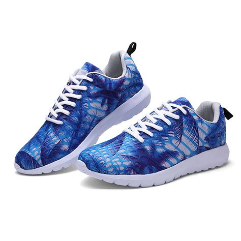 rainbow athletic shoes fashion womens multi color rainbow casual sport shoes