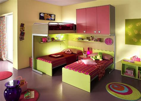 Kid Bedroom Designs Ergonomic Bedroom Designs For Two Children From Linead Kidsomania