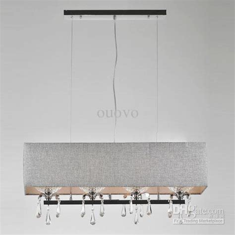 Rectangular Drum Pendant Light Stylish Rectangular Pendant Light Modern Rectangular Pendant Light Pendant Lighting Rectangular