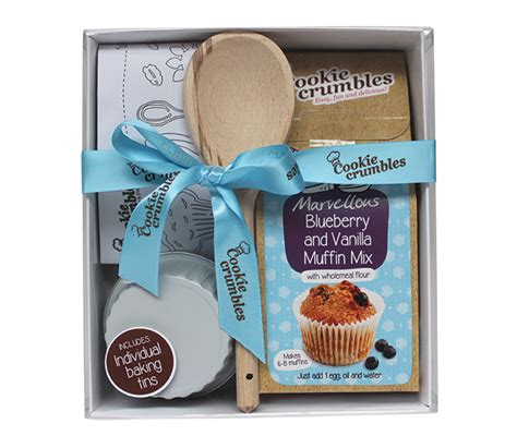 blueberry vanilla gift set cookie crumbles
