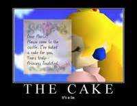 The Cake Is A Lie Meme - mario motivationals demotivational mario posters