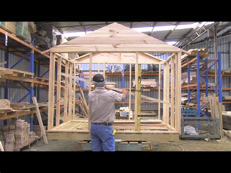 make a home how to build a cubby house cladding wall part 1 youtube