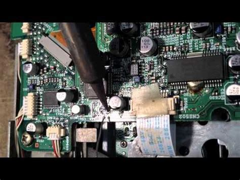 smd capacitor replace sony icf sw77 capacitor removal doovi