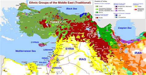 middle east map ethnic archicivilians on quot must see middle east