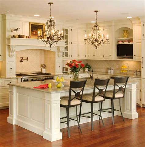 Decorating Ideas For Kitchen Islands small kitchen island designs with seating design decor idea