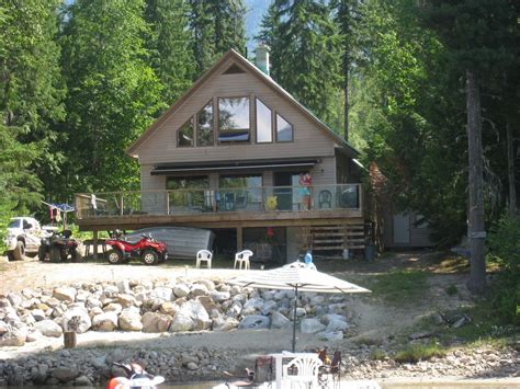 seymour arm waterfront cabin 100 beachfront vrbo