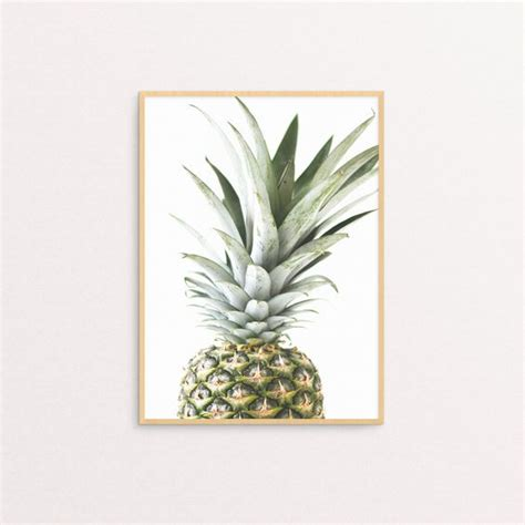 pineapple you print any size home decor