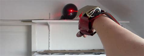 How To Make Iron Gloves Out Of Paper - this iron glove shoots lasers and metal bolts