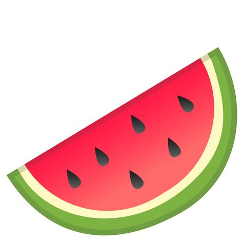 watermelon emoji watermelon icon noto emoji food drink iconset google