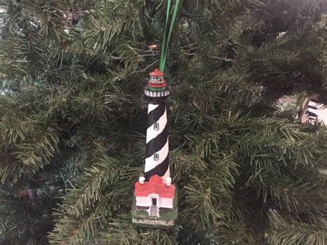 oak island christmas ornament buy st augustine lighthouse tree ornament 7 inch coas