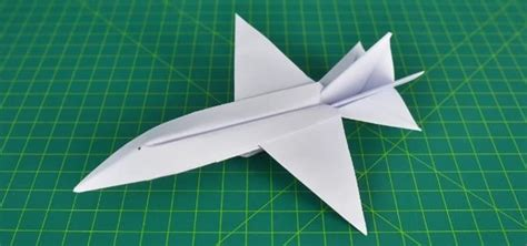 How Do You Make A Airplane Out Of Paper - how to make awesome paper plane f18 hornet 171 papercraft