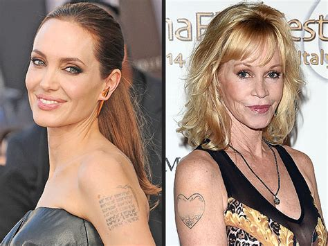 angelina jolie tattoos removed removal www pixshark images