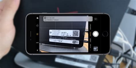 ios  lets  scan  routers qr code  quickly join  network tomac