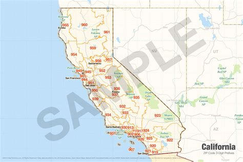 california zip code california zip code map california map