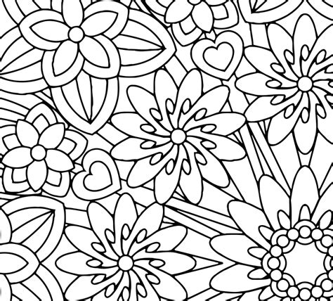 coloring book for mindfulness free coloring pages of flower mindfulness