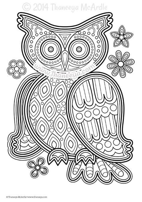 Don T Worry Be Happy Coloring Book By Thaneeya Mcardle