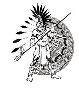 If Not For The Old Rugged Cross Aztec Tattoo Designs The Body Is A Canvas