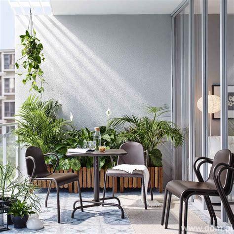 tiny ikea balcony decor ideas balkon kawałek ogrodu w każdym domu dom pl