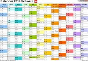 Kalender 2018 Und 2019 Kalender 2019 Schweiz Zum Ausdrucken Als Pdf