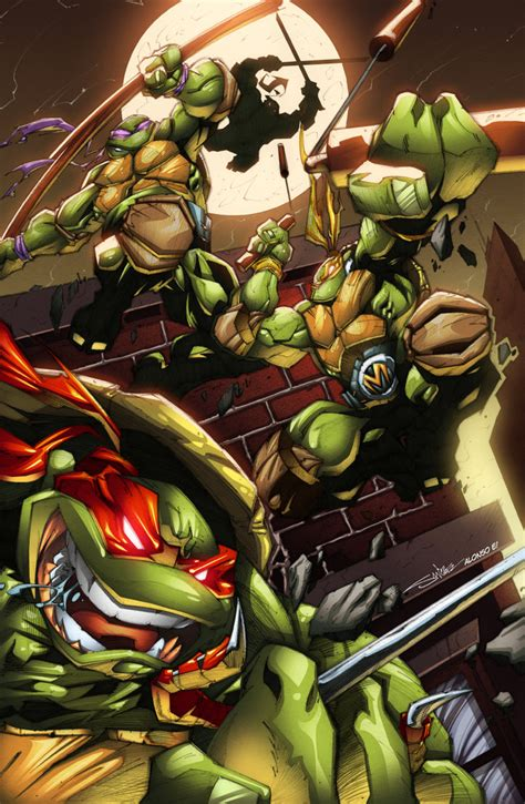 tmnt jump by alonsoespinoza on deviantart