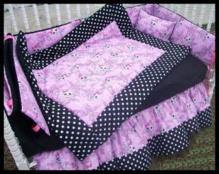 pink polka dot crib bedding black and white tiger bedding on popscreen