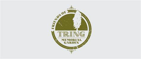Home Entrance Design friends of tring memorial garden logo design