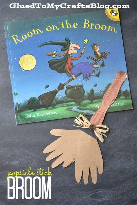 room on the broom craft ideas popsicle stick broom kid craft craft school and