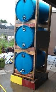 Making A Rain Barrel Gardens Yards Rain Collection Watering System On