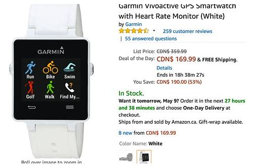 smartwatch deals canada