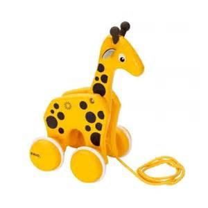 Toddlers Bedroom Furniture brio pull along giraffe wooden giraffe african animals