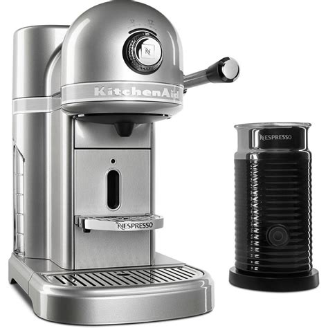 Nespresso Coffee Machine kitchenaid nespresso 5 cup espresso machine and milk